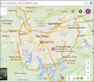 Figura 02 – Mapa da Grande São Paulo - Fonte – Google Maps