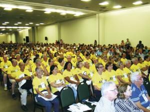Delegação da APACAME na abertura do congresso
