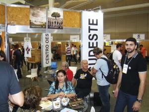 A ExpoApis teve estandes representando todas as regições do Brasil.