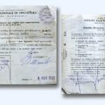 1965/66 – Certificado Sanitário de importação de Rainhas da Itália