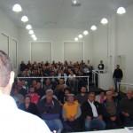 O auditório ficou totalmente tomado pelos participantes do evento, os quais, ao final, manifestaram a sua satisfação com a palestra proferida.