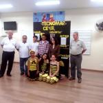 Equipe Tecnomar e Representantes da APACAME