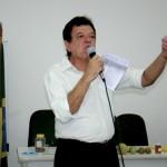 O Palestrante transmitiu as suas informações com grande entusiasmo o que prendeu a atenção dos presentes.
