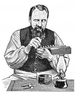 Doolitle em 1888 apresentou o processo de criação de Rainhas.