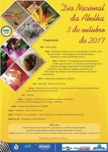 Programa divulgado pelas redes sociais nos principais grupos de apicultores e meliponicultores .