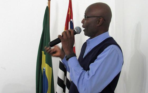 O palestrante Dr. Celso Henrique
