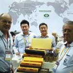 Uma visita ao stand da empresa coreana YASAENG a maior produtora de equipamentos da Coreia do Sul