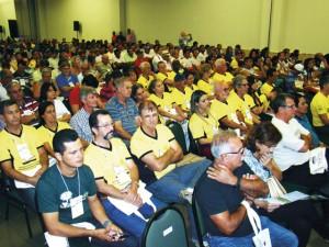 Delegação da Cooapis / Faamesp na abertura do congresso