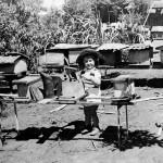 1946 – Apiário Santo Antônio – Caieiras/SP - de Luiz Zovaro – Filho Radamés com 3 anos