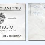 1943/1965 – Impressos utilizados pelo Apiário Santo Antonio de Luiz Zovaro para rotulagem de mel e envelopes de carta.