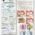 1965/1975 – Comprovante do Correio referente a vinda de rainhas da Itália e Austría.