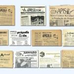 1950/2000 – Capas de Jornais apícolas, existentes ao longo dos anos que eram recebidos pelos apiários da família Zovaro.