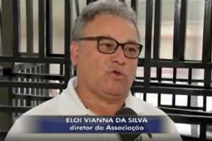 Eloi Viana da Silva em entrevista a TV TEM, diretor da APACAME.
